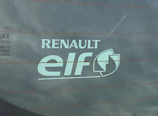 Genuine Renault ELF Rear Window Sticker - BRAND NEW GENUINE DIRECT FROM FACTORY