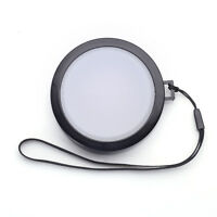 82mm White Balance Lens Cap with Filter Mount for Canon Nikon DV DC DSLR SLR 82