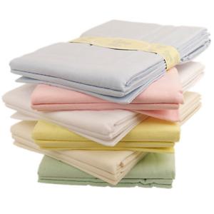 Baby flat sheets x 2 flannelette pram moses basket crib