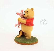 Winnie The Pooh Figurine Piglet Hugs Good Friend Disney Winnie Pooh & Friends