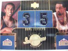 2003 UPPER DECK DUAL JERSEY CARD # 127 NUGGETS  JUWAN HOWARD   BOX54
