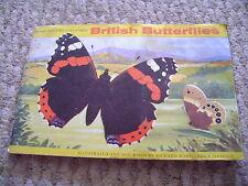 British Butterflies Album & Cards Full Set By Brooke Bond Tea