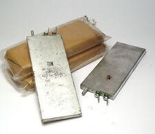 6x MP-Kondensator 4 µF / 160V für Audio, militärische Flachbauform, NOS