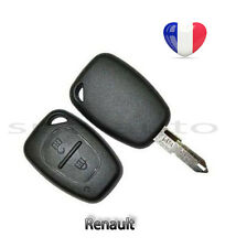 plip coque clé Renault Kangoo Trafic Master + lame vierge