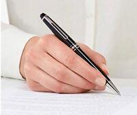 Authentic MontBlanc Meisterstuck Platinum Line Classique Ballpoint Pen 164 Black