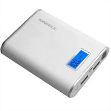 Large Capacity 20,000mAh Mobile Power Bank Portable Charger with LED Flashlight