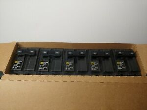 Square D Schneider 5 PK Homeline 50-Amp 2-Pole Miniature Circuit Breakers HOM250