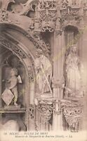 SEPIA 01000 BOURG Eglise de BROU détail du mausolée de Marguerite de Bourbon