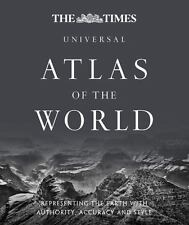 Times Universal Atlas of the World Hardcover Gift Education Christmas NEW Sealed