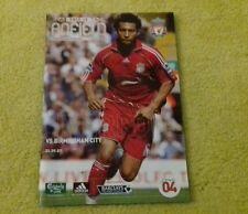138) Liverpool v Birmingham City   premier league   22-9-2007