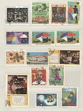 q7883 - CUBA - 1970 - LOTTO TEMATICI USATI N°1387/416 - VEDI FOTO