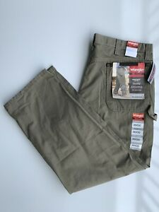 Wrangler Riggs Workwear Cargo Pants Relaxed Fit - Men's Size 38x30 NWT Beige