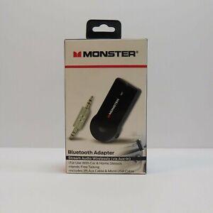 MONSTER Wireless Bluetooth Adapter - Stream Audio Hands Free Black