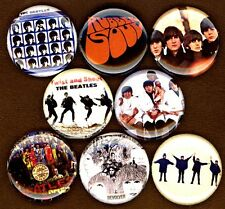 The Beatles 8 NEW 1 inch pins button badge butcher cover rubber soul twist shout