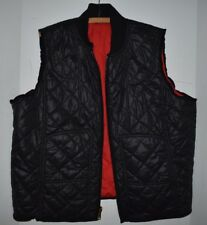 Ralph Lauren Navy Red Quilted Nylon Vest Reversible Vest Jacket Coat XXL 2XL