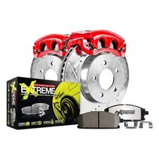CHR008SD Chrysler 300 SRT-8 Performane Brake Rotors Cross Drill /& Dimple Slots