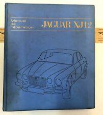 Werkstatthandbuch, Manuel de Réparation, Jaguar XJ12 S 1, Französisch, F.172/1