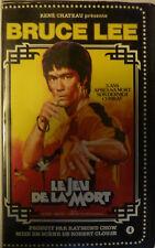 Le jeu de la mort - René Chateau VHS - Bruce Lee édition 1981 Très RARE