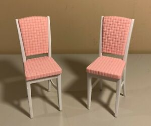Barbie Doll Furniture - So Real, So Now Dining Room Chairs - 1998 Mattel