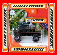 MATCHBOX 2020   1968 DODGE D200   65 /100   NEU&OVP