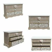 Mini Dresser Cabinet Colourful Chest of Drawers Wood 2 Wardrobe