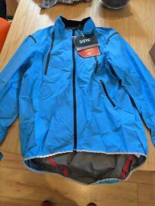 GORE Wear C7 Goretex Windstopper Light Jacket - Large (Cyan/Blue)