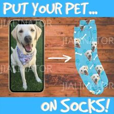Custom Face Socks Long Socks Personalised Face Socks Photo On Socks Customised