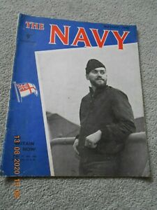 Vintage The Navy Magazine - August 1942 Edition