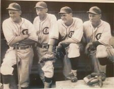 "RARE VINTAGE ""CHICAGO CUBS PLAYERS FRENCH, WARREN, LEE, ??  8"" X 10""  PHOTO"