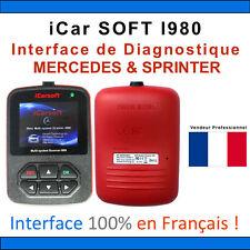 ★ EXCLUSIVITE ★ iCARSOFT i980 - OUTIL DIAGNOSTIQUE OBD2 MERCEDES SPRINTER