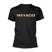 Official T Shirt PARAMORE- COLOUR SWATCH All Sizes Black Mens Licensed Merch New