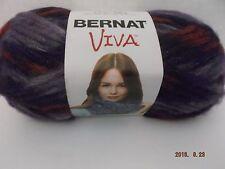 2 Skeins Bernat Sweety New #2382 Grape Yarn Discontinued