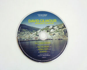David Gilmour Romany Polly Samson Pink Floyd Yes I Have Ghosts CD Disc Only