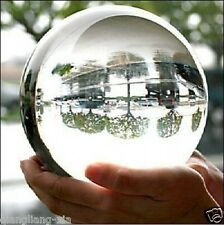 HOT SELL ASIAN QUARTZ CLEAR CRYSTAL BALL SPHERE 110MM + STAND+FREE GIFT
