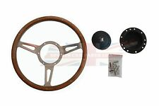 "New 13"" Wood Steering Wheel & Hub Adaptor Triumph Spitfire 1963-1976 Made in UK"