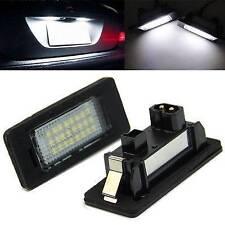 Pair Error Free LED License Number Plate Light For BMW E39 E60 E61 E90 5 Series