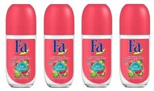 4x Fa Island Vibes Fiji Dream Anti-perspirant Deodorant Roll On for Women 4x50ml