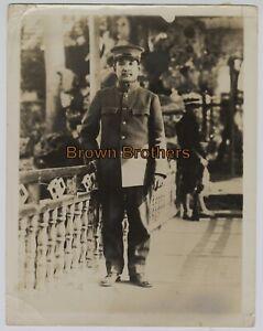 Vintage 1910s Historic China Dr. Sun Yat-Sen in Military Uniform Photo #1 - BB
