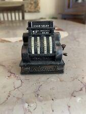 National Cash Register Pencil Sharpener - Pot Metal - Highly Decoratively Molded