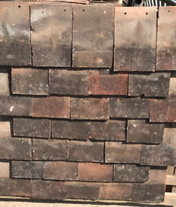 Reclaimed Clay Continues Nib Roof Tiles
