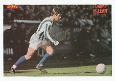 TOMMY McLEAN KILMARNOCK 1964-1971 ORIGINAL HAND SIGNED PICTURE CUTTING