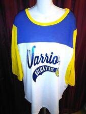 Golden State Warriors Womens XXL GSW size 2XL Shirt Jersey NWT New NBA Official
