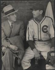 1938 Orig Baseball Wire Photo - Ford Frick/Dizzy Dean