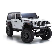 Kyosho 32521w RC Mini Z 4x4 Crawling Car Jeep Wrangler Unlimited Rubicon RTR Set