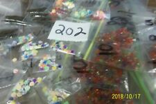 HUGE LOT of assorted  findings great amount for the price Lot 202   <><