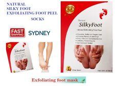 AUS Silky Baby Foot Exfoliation Milky Feet Peel Mask Remove Dead Skin Foot MasK