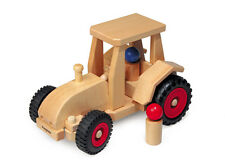 Holzspielzeug Miniatur Traktor Möbeltransport A104BR Fahrzeuge