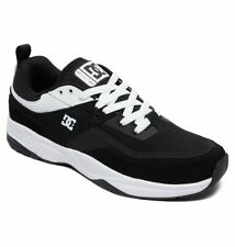 Tg 42 - Scarpe Uomo Skate DC Shoes E.Tribeka Black White Sneakers Schuhe 2019