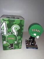 MLB Texas Rangers Baseball SGA Green Dot Bobblehead