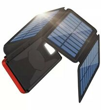 Portable Charger Solar Charger 26800mAh Solar Power Bank Detachable Solar Panel
